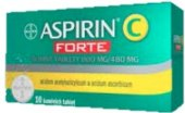 Šumivé tablety Aspirin C Forte Bayer