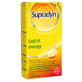 Šumivé tablety CoQ10 Energy Supradyn
