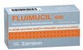 Šumivé tablety proti kašli Fluimucil