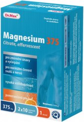 Šumivé tablety Magnesium Citrat Dr. Max