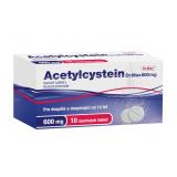 Šumivé tablety na vykašlávání Acetylcystein Dr.Max