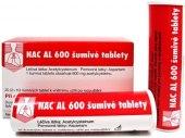 Šumivé tablety při kašli Nac Al
