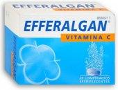 Šumivé tablety od bolesti Efferalgan
