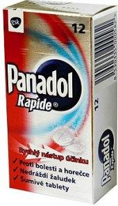 Šumivé tablety Panadol Rapide