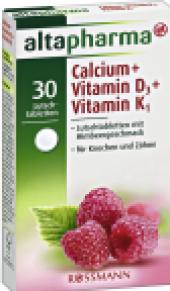 Šumivé tablety Calcium Altapharma