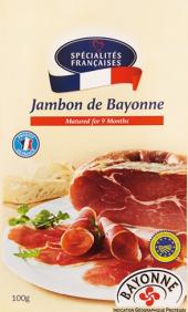 Šunka Jambon de Bayonne Spécialités Francaises