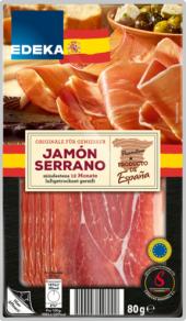 Šunka Jamón Serrano Edeka