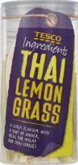 Tráva citronová sušená Tesco