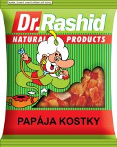 Sušená papája Dr. Rashid