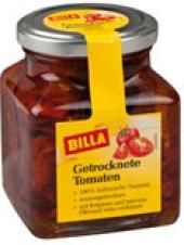 Sušená rajčata v oleji Billa