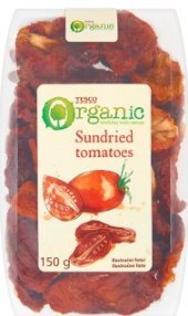 Sušená rajčata Tesco Organic