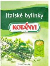 Sušené bylinky Kotányi