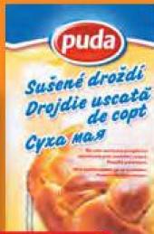 Droždí sušené Puda