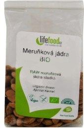 Sušená meruňková jádra bio Lifefood