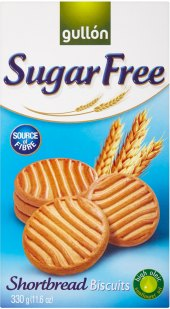 Sušenky bez cukru Sugar Free Gullón