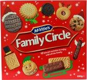 Sušenky Family Circle Mcvitie's