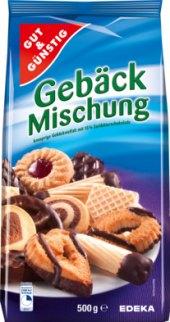 Sušenky Gebäck Mischung Gut&Günstig Edeka