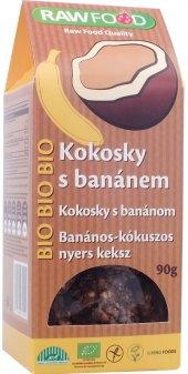 Sušenky kokosky Bio Rawfood