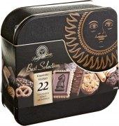 Sušenky s čokoládou Best Selection Lambertz - dóza