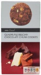 Sušenky s kousky čokolády Tesco Finest