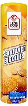 Sušenky Sandwich Biscuits Fine Food