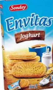 Sušenky snídaňové plněné Sondey
