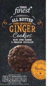 Sušenky v čokoládě Tesco Finest