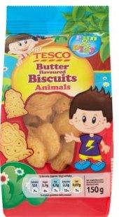 Sušenky ve tvaru zvířátekTesco