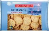 Sušenky z ovesných vloček Sodergärden