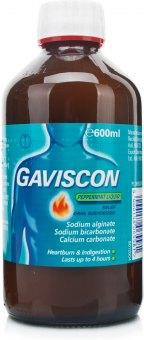 Suspenze tekutá proti pálení žáhy Gaviscon