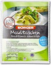 Švábské těstovinové taštičky Bürger