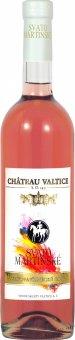 Víno Svatovavřinecké Rosé Chateau Valtice - svatomartinské