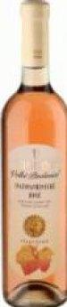 Víno Svatovavřinecké Rosé Vinium Velké Pavlovice