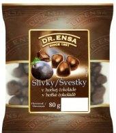 Švestky v čokoládě Dr. Ensa