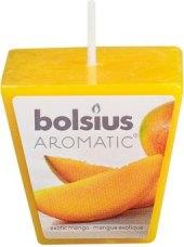 Svíčka čtvercová Aromatic Bolsius