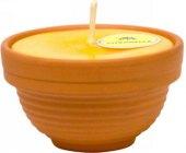 Svíčka v keramické misce Citronella