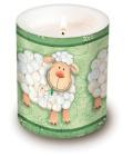 Svíčka velikonoční ve skle
