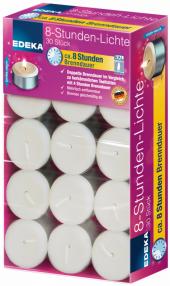 Svíčky čajové Edeka