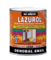 Syntetický email na dřevo Oknobal Lazurol