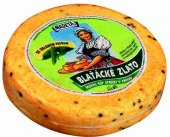 Sýr Blaťácké zlato se zeleným pepřem Madeta