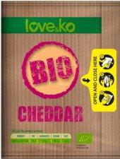 Sýr čedar Bio Love&Ko