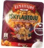 Sýr Čedar kořeněné kousky Žemaitijos