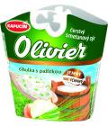 Sýr čerstvý smetanový ochucený Olivier Kapucín