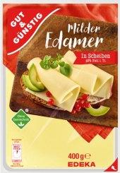 Sýr Edamer 40 % Gut&Günstig Edeka
