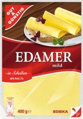 Sýr Eidam 40% Gut&Günstig  Edeka
