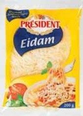 Sýr Eidam strouhaný Président