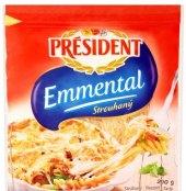 Sýr Ementál strouhaný Président