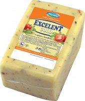 Sýr Excelent Gold s rajčaty a bazalkou Moravia