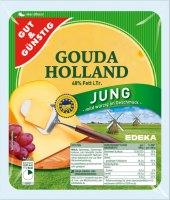 Sýr Gouda 48% jung Gut&Günstig Edeka