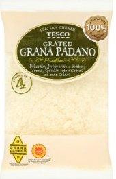 Sýr Grana Padano strouhaný Tesco